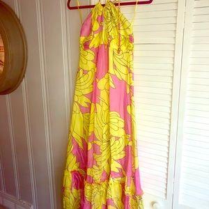 Milly summer maxi dress